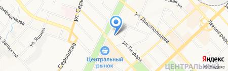 iTСервис на карте Хабаровска