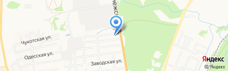 Фермер Снаб на карте Хабаровска
