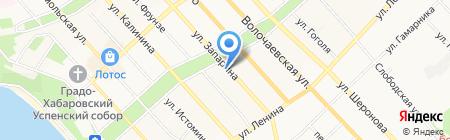 JOB.RU на карте Хабаровска