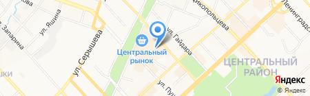Всероссийский НИИ охотничьего хозяйства и звероводства им. профессора Б.М. Житкова на карте Хабаровска