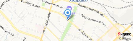 Женские брючки на карте Хабаровска