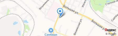 Автостоянка на Воронежской на карте Хабаровска
