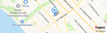 Зверь на карте Хабаровска