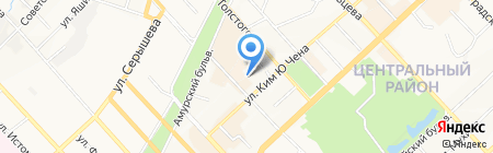 ДВ Капитал на карте Хабаровска