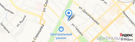 Color MIX на карте Хабаровска