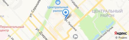 Lego на карте Хабаровска