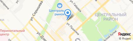 Время творить на карте Хабаровска