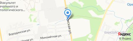 Соник Моторс на карте Хабаровска