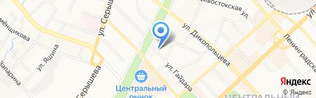 Хабаровск Риэлти на карте Хабаровска