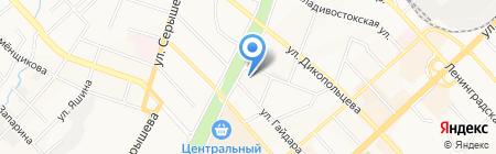 Гастроном на карте Хабаровска