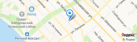 Аварийно-замочная служба по вскрытию и ремонту замков и дверей на карте Хабаровска