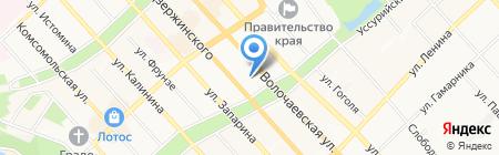 ВОЛНА ДВ на карте Хабаровска