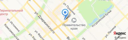 Российское общество социологов на карте Хабаровска