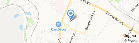 Ангел на карте Хабаровска
