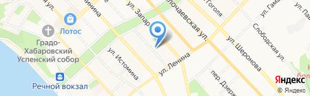 АзияТранзитРегион на карте Хабаровска
