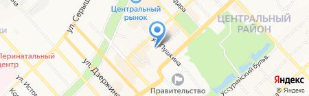 Восточные сладости на карте Хабаровска