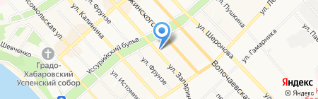 А-СТОРИ на карте Хабаровска