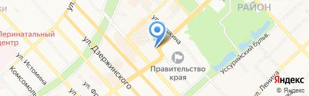 Сотовый мир на карте Хабаровска