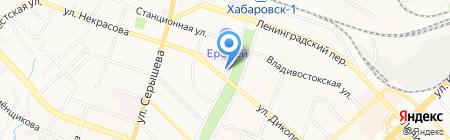 Перманент на карте Хабаровска