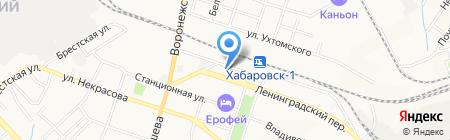 Нирвана на карте Хабаровска