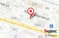 Схема проезда до компании ЗерГут в Вологде