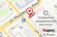 Схема проезда до компании Компания Реал-Видео в Хабаровске
