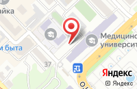Схема проезда до компании Медико-Юридическая Клиника в Хабаровске