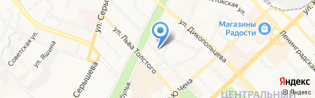Стекло на карте Хабаровска
