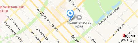 COFFEE REPUBLIC на карте Хабаровска
