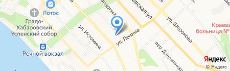SFitL на карте Хабаровска