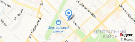 Храм Святого Николая Чудотворца на карте Хабаровска