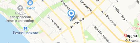 Комсомольская правда на карте Хабаровска