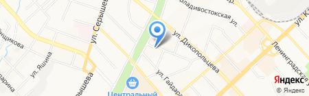 АВИАТРАНСПОРТНОЕ АГЕНТСТВО ВОЗДУШНЫХ СООБЩЕНИЙ ХАБАРОВСК на карте Хабаровска