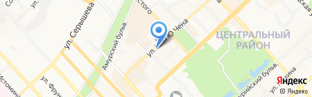 ЭЛЬ ТУР на карте Хабаровска