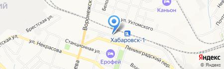 ТрансПэк на карте Хабаровска