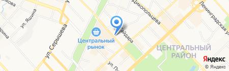 Аудит-Альянс на карте Хабаровска