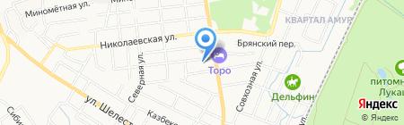 МИЦУБИСИ АВТОМИР на карте Хабаровска