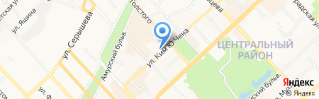 Felici на карте Хабаровска