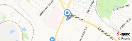 Дальфарма на карте Хабаровска