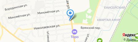ВОСТОК-ЭНЕРГОСВЕТ на карте Хабаровска