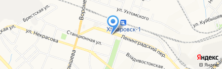 Сеть фотосалонов на карте Хабаровска