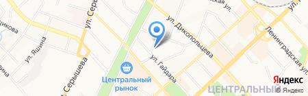 Тим Пицца на карте Хабаровска