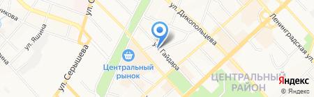 Живой Кофе-Хабаровск на карте Хабаровска