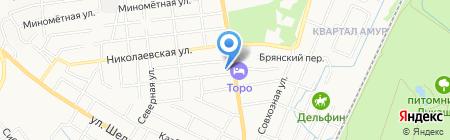 Mercedez-benz на карте Хабаровска