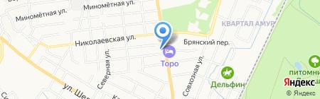Автомир на карте Хабаровска