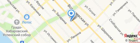 Трансремком на карте Хабаровска