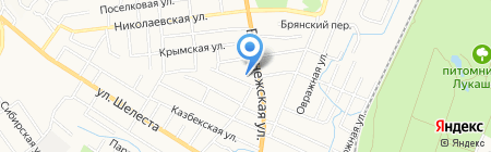 Отдел полиции №9 на карте Хабаровска