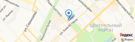 Управление Судебного департамента в Хабаровском крае на карте Хабаровска