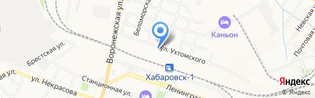 М ГРУПП на карте Хабаровска