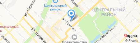 Дентал-Комплекс на карте Хабаровска